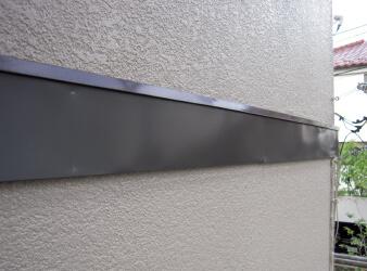 破風板・幕板の板金巻き工事