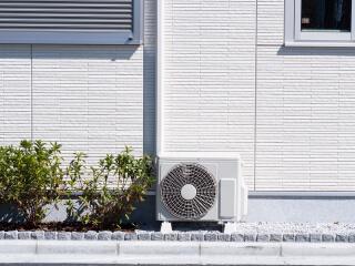 エアコン・給湯器は施工中でも使用OK