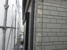 水分を吸い剥離したサイディングボードの補修方法:千葉市中央区川戸町
